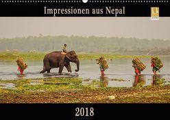 Impressionen aus Nepal (Wandkalender 2018 DIN A2 quer) von Niemann,  Maro