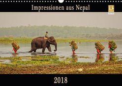 Impressionen aus Nepal (Wandkalender 2018 DIN A3 quer) von Niemann,  Maro