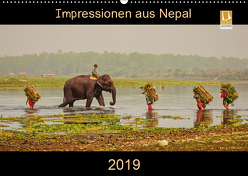 Impressionen aus Nepal (Wandkalender 2019 DIN A2 quer) von Niemann,  Maro