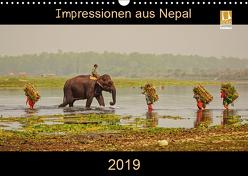 Impressionen aus Nepal (Wandkalender 2019 DIN A3 quer) von Niemann,  Maro