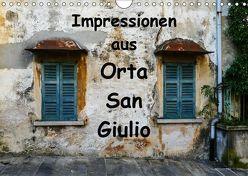 Impressionen aus Orta San Giulio (Wandkalender 2019 DIN A4 quer) von Hampe,  Gabi