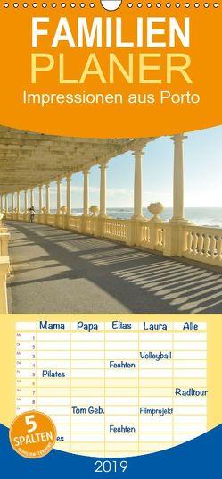 Impressionen aus Porto – Familienplaner hoch (Wandkalender 2019 , 21 cm x 45 cm, hoch) von Furkert,  Nicola