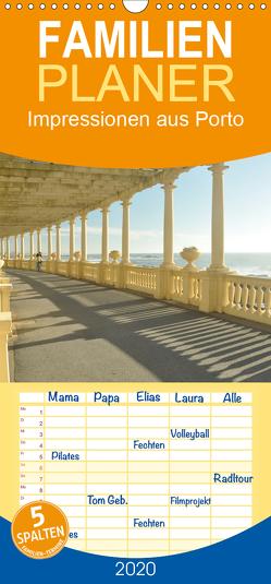 Impressionen aus Porto – Familienplaner hoch (Wandkalender 2020 , 21 cm x 45 cm, hoch) von Furkert,  Nicola