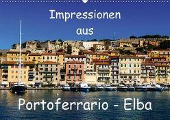 Impressionen aus Portoferrario – Elba (Wandkalender 2018 DIN A2 quer) von N.,  N.