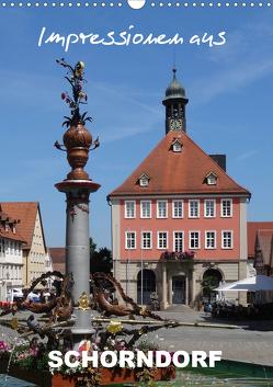 Impressionen aus Schorndorf (Wandkalender 2020 DIN A3 hoch) von Huschka,  Klaus-Peter