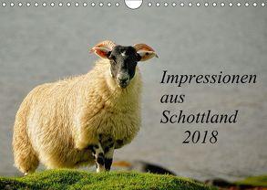 Impressionen aus Schottland / CH-Version (Wandkalender 2018 DIN A4 quer) von und Holger Karius,  Kirsten