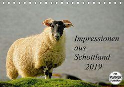Impressionen aus Schottland (Tischkalender 2019 DIN A5 quer)