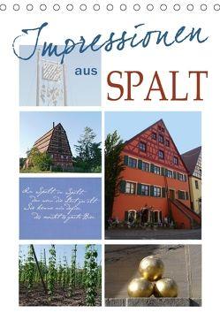 Impressionen aus Spalt (Tischkalender 2018 DIN A5 hoch) von B-B Müller,  Christine