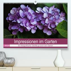 Impressionen im Garten (Premium, hochwertiger DIN A2 Wandkalender 2020, Kunstdruck in Hochglanz) von Verena Scholze,  Fotodesign