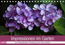 Impressionen im Garten (Tischkalender 2019 DIN A5 quer) von Verena Scholze,  Fotodesign