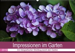 Impressionen im Garten (Wandkalender 2019 DIN A2 quer) von Verena Scholze,  Fotodesign