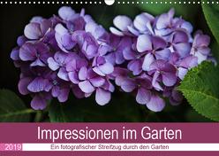 Impressionen im Garten (Wandkalender 2019 DIN A3 quer) von Verena Scholze,  Fotodesign