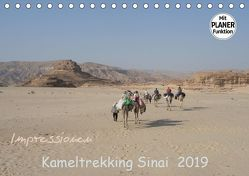 Impressionen Kameltrekking Sinai 2019 (Tischkalender 2019 DIN A5 quer) von Wesselak,  Mucki
