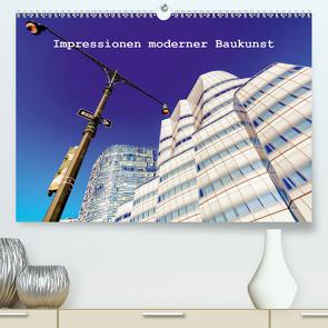 Impressionen moderner Baukunst (Premium, hochwertiger DIN A2 Wandkalender 2021, Kunstdruck in Hochglanz) von Müller,  Christian