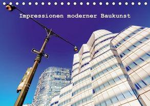 Impressionen moderner Baukunst (Tischkalender 2018 DIN A5 quer) von Müller,  Christian