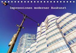 Impressionen moderner Baukunst (Tischkalender 2019 DIN A5 quer) von Müller,  Christian