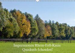 Impressionen Rhein-Erft-Kreis Quadrath-Ichendorf (Wandkalender 2019 DIN A3 quer) von Wejat-Zaretzke,  Gabriela