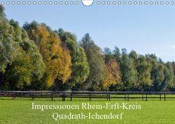 Impressionen Rhein-Erft-Kreis Quadrath-Ichendorf (Wandkalender 2019 DIN A4 quer) von Wejat-Zaretzke,  Gabriela