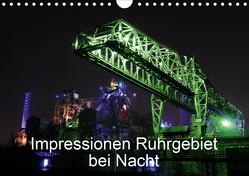 Impressionen Ruhrgebiet bei Nacht (Wandkalender 2020 DIN A4 quer) von von Sannowitz,  Andreas