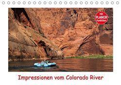 Impressionen vom Colorado River (Tischkalender 2019 DIN A5 quer) von Wilczek,  Dieter-M.