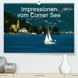 Impressionen vom Comer See (Premium, hochwertiger DIN A2 Wandkalender 2021, Kunstdruck in Hochglanz) von Hampe,  Gabi