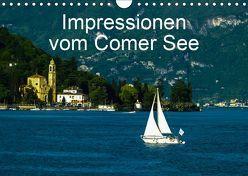 Impressionen vom Comer See (Wandkalender 2019 DIN A4 quer) von Hampe,  Gabi