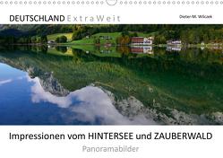 Impressionen vom HINTERSEE und ZAUBERWALD Panoramabilder (Wandkalender 2021 DIN A3 quer) von Wilczek,  Dieter-M.