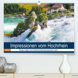 Impressionen vom Hochrhein (Premium, hochwertiger DIN A2 Wandkalender 2021, Kunstdruck in Hochglanz) von Voigt,  Tanja