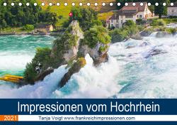 Impressionen vom Hochrhein (Tischkalender 2021 DIN A5 quer) von Voigt,  Tanja