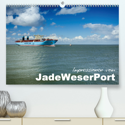 Impressionen vom JadeWeserPort (Premium, hochwertiger DIN A2 Wandkalender 2020, Kunstdruck in Hochglanz) von www.geniusstrand.de,  ©