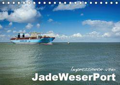 Impressionen vom JadeWeserPort (Tischkalender 2019 DIN A5 quer) von www.geniusstrand.de,  ©