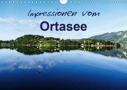 Impressionen vom Ortasee (Wandkalender 2019 DIN A4 quer) von Hampe,  Gabi