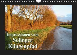 Impressionen vom Solinger Klingenpfad (Wandkalender 2019 DIN A4 quer) von Bauch,  Dorothee
