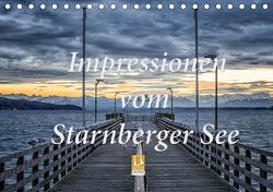 Impressionen vom Starnberger See (Tischkalender 2021 DIN A5 quer) von Marufke,  Thomas