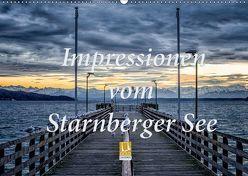 Impressionen vom Starnberger See (Wandkalender 2019 DIN A2 quer) von Marufke,  Thomas