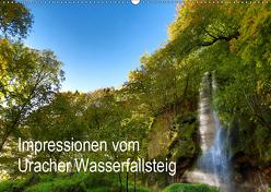 Impressionen vom Uracher Wasserfallsteig (Wandkalender 2019 DIN A2 quer) von Krisma