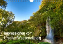 Impressionen vom Uracher Wasserfallsteig (Wandkalender 2019 DIN A4 quer) von Krisma