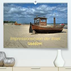 Impressionen von der Insel Usedom (Premium, hochwertiger DIN A2 Wandkalender 2021, Kunstdruck in Hochglanz) von Hoschie-Media