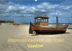 Impressionen von der Insel Usedom (Wandkalender 2021 DIN A2 quer) von Hoschie-Media
