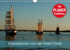 Impressionen von der Kieler Förde (Wandkalender 2020 DIN A4 quer) von Schlüfter,  Elken