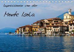 Impressionen von der Monte Isola (Tischkalender 2019 DIN A5 quer) von Hampe,  Gabi