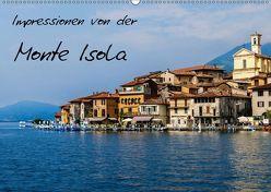 Impressionen von der Monte Isola (Wandkalender 2019 DIN A2 quer) von Hampe,  Gabi