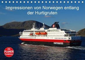 Impressionen von Norwegen entlang der Hurtigruten (Tischkalender 2018 DIN A5 quer) von kattobello