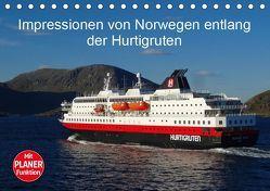 Impressionen von Norwegen entlang der Hurtigruten (Tischkalender 2019 DIN A5 quer) von kattobello