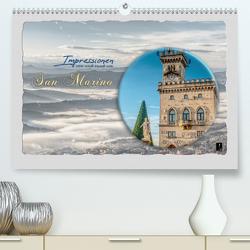 Impressionen – von und rund um San Marino (Premium, hochwertiger DIN A2 Wandkalender 2020, Kunstdruck in Hochglanz) von HC Bittermann,  Photograph