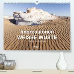 Impressionen – Weiße Wüste (Premium, hochwertiger DIN A2 Wandkalender 2020, Kunstdruck in Hochglanz) von Eigenheer,  Sandra