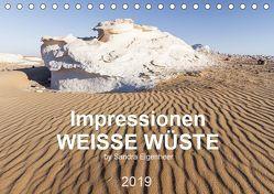 Impressionen – Weiße Wüste (Tischkalender 2019 DIN A5 quer) von Eigenheer,  Sandra