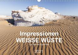 Impressionen – Weiße Wüste (Wandkalender 2021 DIN A3 quer) von Eigenheer,  Sandra