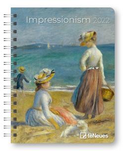 Impressionism 2022 – Diary – Buchkalender – Taschenkalender – Kunstkalender – 16,5×21,6