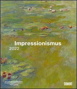 Impressionismus 2022 – Kunstkalender – Museum Barberini – Wandkalender im Format 34,5 x 40 cm – Spiralbindung